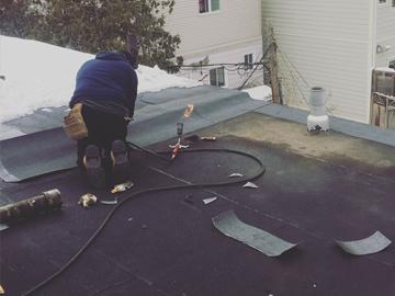 flat roof repair toronto