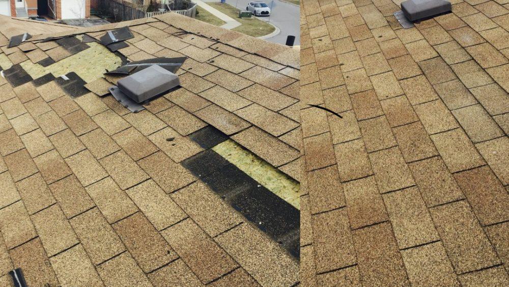 missing shingles, shingle repair, shingle roof repair, roof shingle repair