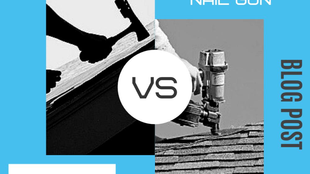 Hand Nailing vs Nail Gun